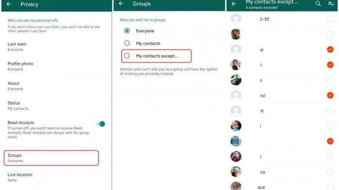 Cara Menolak atau Menerima Undangan Masuk Grup WhatsApp