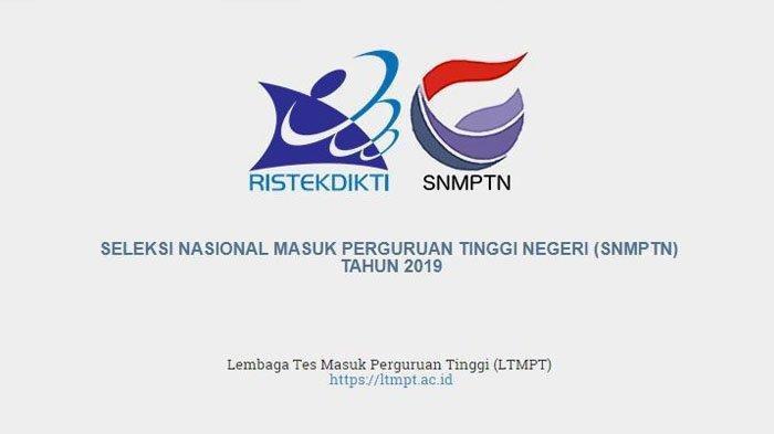 Status Akreditasi untuk SMK Pendaftar SNMPTN 2019 Berubah, Cek Eligibilitas di web.snmptn.ac.id
