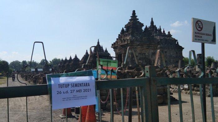 Cegah Penyebaran COVID-19, Candi Plaosan Klaten Tutup Dua Hari