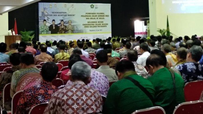 Cegah Perpecahan Bangsa, Rektor UIN Kalijaga Sarankan Halal Bihalal Partai