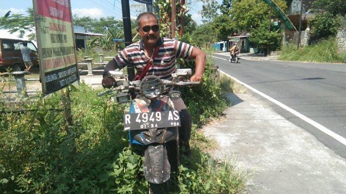 Cerita Pakde Tos Klaten, Parkir Motor Matik Selama 6 Tahun di Tepi Jalan, Ternyata Ini Alasannya