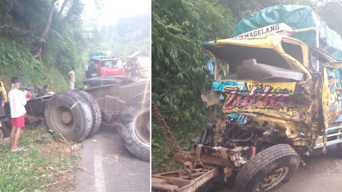 Cerita Sopir Mobil yang Ikut Dihantam Tronton di Tanjakan Kalijambe Magelang-Purworejo
