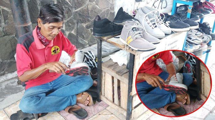 Cerita Tukang Sol Sepatu di Yogyakarta Langganan Para Mahasiswa Hingga Pekerja Kantoran