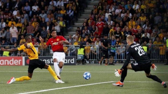 Liga Champions - Young Boys vs Man United