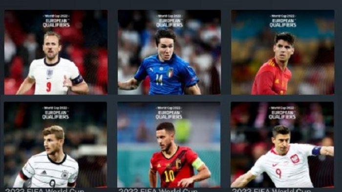 Channel TV Siaran Kualifikasi Piala Dunia Italia vs Bulgaria, Hongaria vs Inggris, Swedia vs Spanyol
