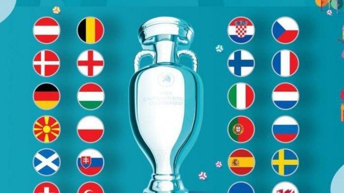 Channel TV EURO Rabu Dini Hari Ini & Daftar Negara Lolos 16 Besar Piala Eropa 2020