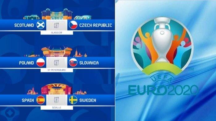 Channel TV Siaran Langsung EURO Malam Hari Ini 14-15 Juni Tayang Live Streaming RCTI MolaTV