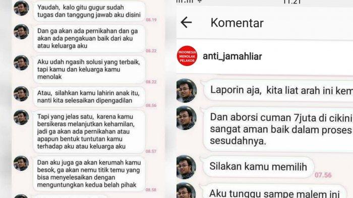 Kabar Terbaru Soal Chat Viral Oknum Pilot yang Minta Pacarnya Aborsi Gara-gara 'Kebobolan'