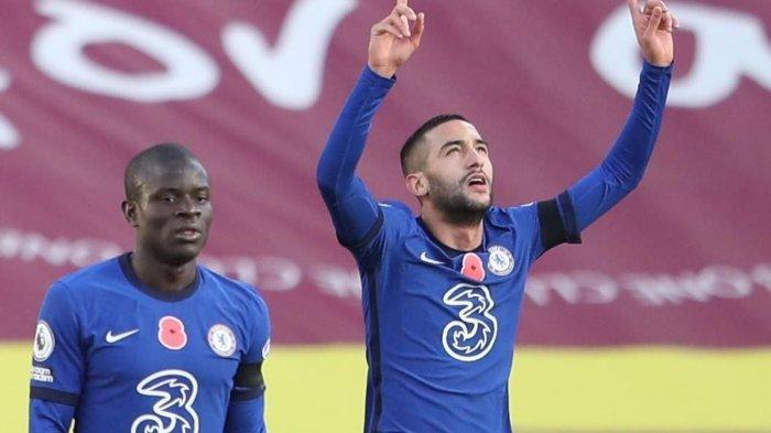 Chelsea vs Man City 1-0: Gol Hakim Ziyech Sambut Umpan Cerdik Timo Werner, The Blues ke Final FA Cup