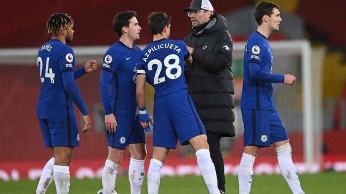 Chelsea Naik Peringkat Klasemen Liga Inggris, Liverpool Urutan 7