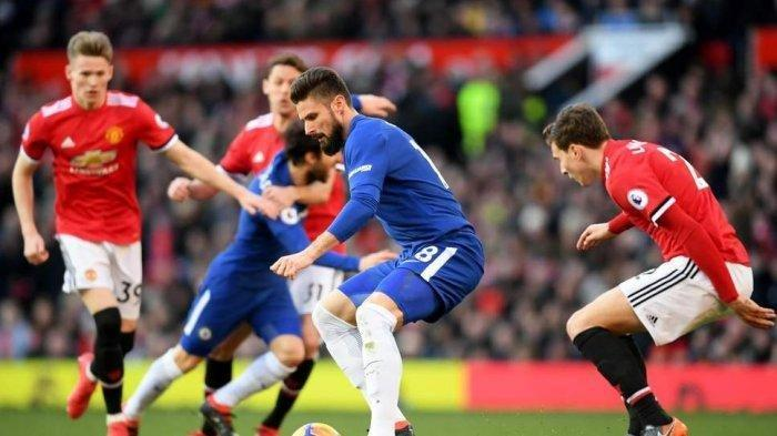 Chelsea vs <a href='https://manado.tribunnews.com/tag/manchester-united' title='ManchesterUnited'>ManchesterUnited</a>