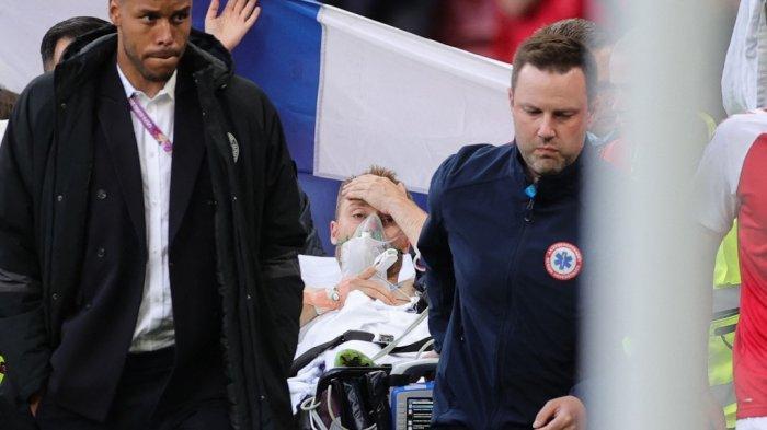 Christian Eriksen Sadar Saat Dievakuasi ke Luar Lapangan