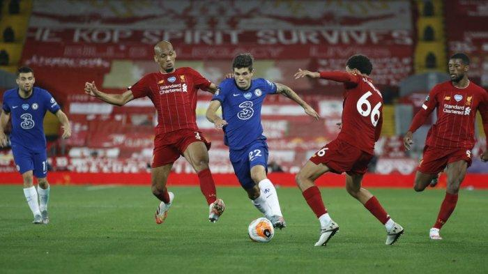 Siaran Langsung Liga Inggris LIVERPOOL vs CHELSEA Malam Ini, Klopp Utak-atik Strategi Kuasai Bola