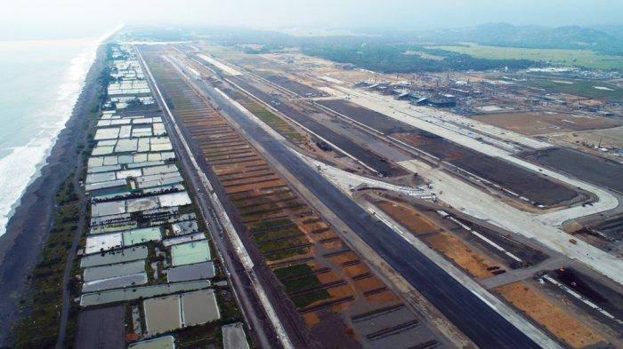 Citra udara kondisi terkini di sekitar fasilitas landasan pacu NYIA