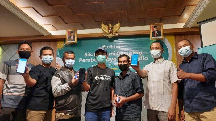 Ada AplikasieFishery, Ratusan Pembudidaya Ikan di Yogyakarta Bisa Santai Sembari Nikmati Hasil