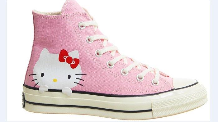 Converse Hadirkan Pink Millennial dengan Motif Hello Kitty