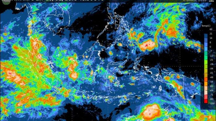 Peringatan Cuaca BMKG Sabtu 17 April 2021 Hari Ini: Daftar Wilayah Berpotensi Hujan Lebat dan Angin