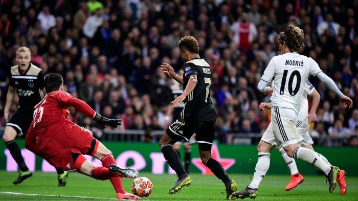 Real Madrid Tersingkir di Babak 16 Besar Liga Champions, Ini 5 Catatan dari Laga Real Madrid vs Ajax