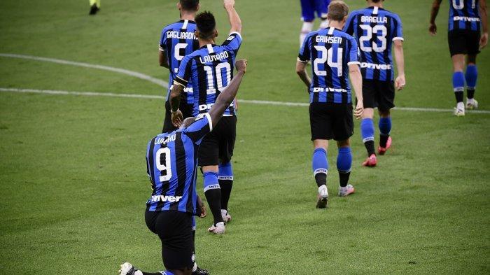 Cuplikan Video Gol Lukaku-Lautaro Pertandingan Inter Milan vs Sampdoria