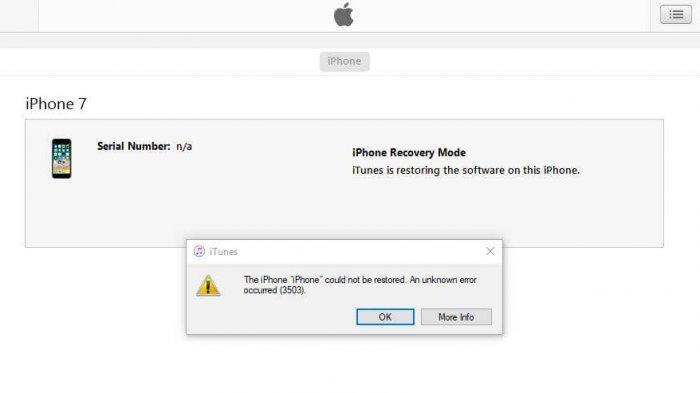 LENGKAP : Daftar Kode Kesalahan yang Bikin iPhone Gagal Update iOS