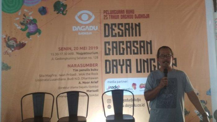 Dagadu Djokdja Luncurkan Buku 25 Tahun Mengisi Dunia Kreatif Yogyakarta