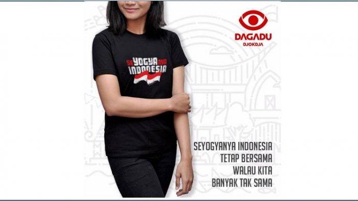 17 Agustus, Dagadu Djokdja Usung Tema : Seyogyanya Indonesia