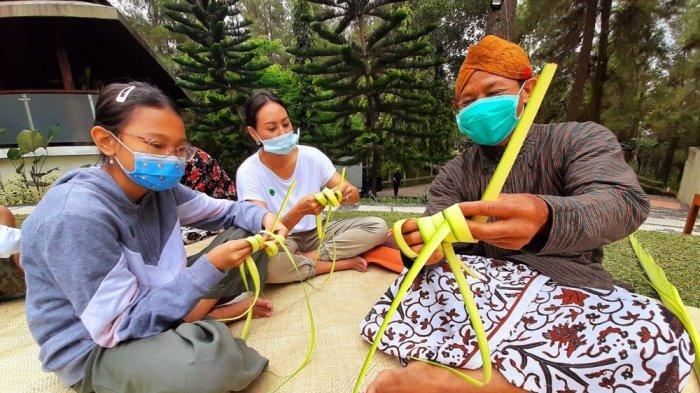 Dagi Abhinaya Picnic Breakfast, Sensasi Menikmati Sarapan Pagi di Atas Perbukitan Borobudur