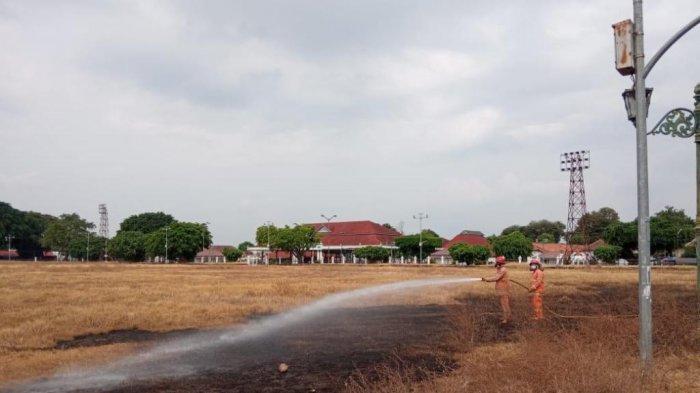 Insiden di Alun-alun Utara, Damkar Kota Yogyakarta Minta Warga Waspada Potensi Kebakaran Lahan