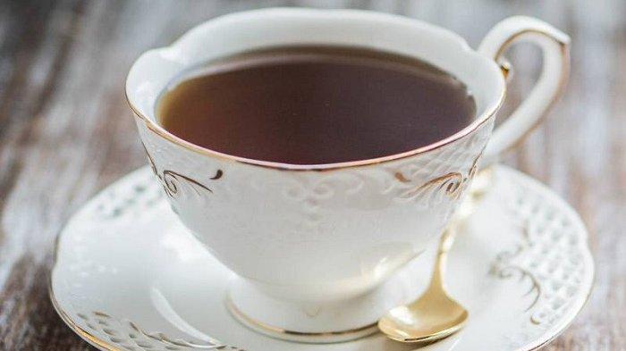 Ilustrasi secangkir teh