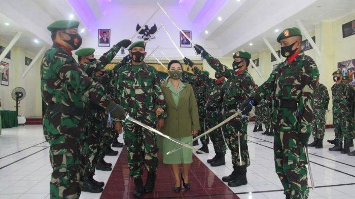 Dandim Magelang Lakukan Sertijab Sekaligus Lepas 3 Perwira Menengah yang masuk MPP
