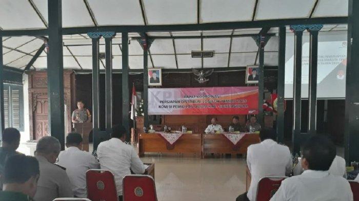 Dapil Pinggiran di Gunungkidul Akan Diutamakan dalam Pengiriman Logistik Pemilu