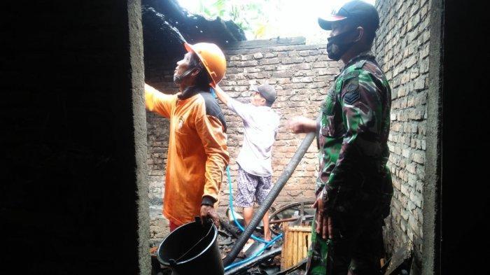 Tungku Belum Dimatikan, Dapur Rumah Milik Warga Nanggulan Kulon Progo Terbakar
