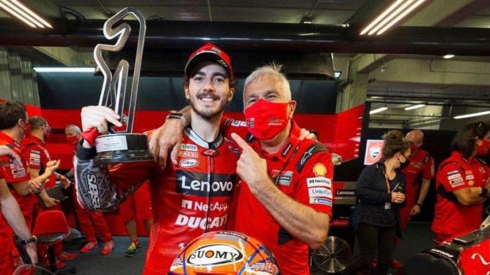 MotoGP 2021: Inilah Calon Juara Dunia MotoGP Francesco Bagnaia