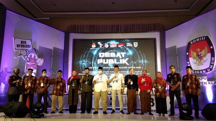 Paslon MULYO Unggul versi Hitung Cepat Pilkada Klaten 2020, ORI dan ABY-HJT Tunggu Hasil Resmi KPU