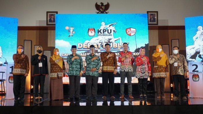 Debat Putaran Tiga Jadi Debat Pamungkas Sebelum Pemilihan Pilkada 2020 Kota Magelang