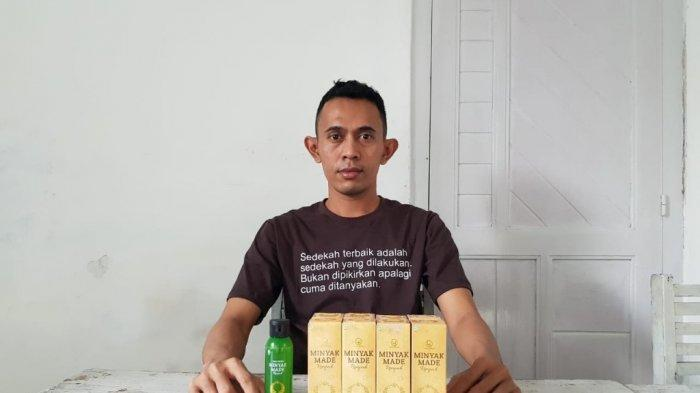 Demi Racik Minyak Made Rempah, Emanuel Satria Kumpulkan Bahan-bahan Alami untuk Jaga Imunitas Tubuh