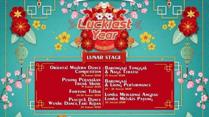 Deretan Event dalam Luckiest Year Ramaikan Imlek 2020 di Jogja City Mall