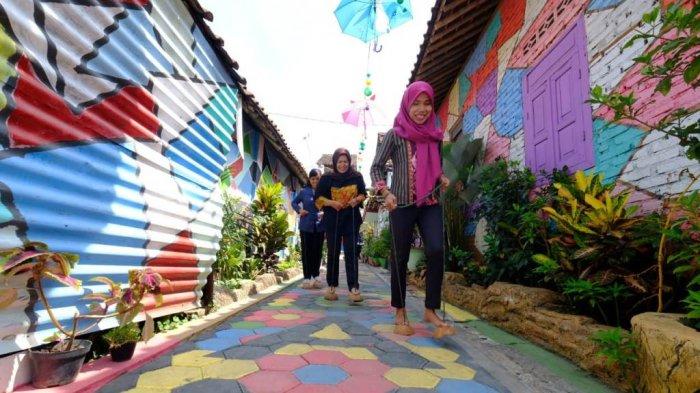 Destinasi Wisata Baru di Kota Magelang, Kampung 'Warna-Warni' Berwarna-Warni Bak Pelangi