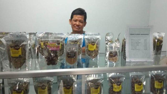 Di Tangan Muhklasin, Kulit Durian Bisa Dibuat Camilan nan Lezat