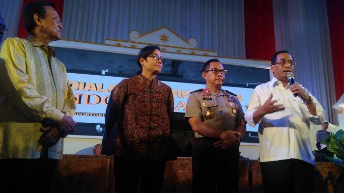 Dialog Nasional Indonesia Maju Bahas Pertumbuhan Ekonomi