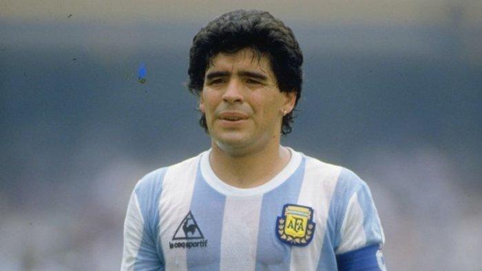 Legenda Sepak Bola Argentina, Diego Armando Maradona