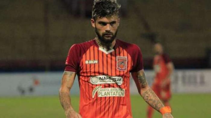Diego Michiels kala memperkuat Borneo FC.