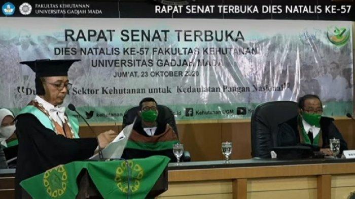 Dies Natalis Ke-57 Fakultas Kehutanan UGM, Hutan untuk Kedaulatan Pangan Nasional