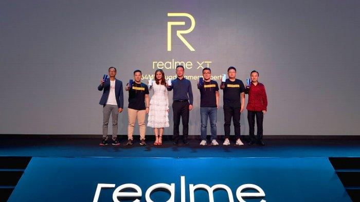 Dilengkapi Kamera Beresolusi Tertinggi 64MP, realme XT Resmi Dijual di Indonesia