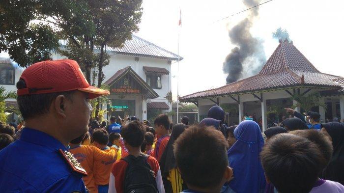 Dinas Kebakaran Kota Yogyakarta Gelar Simulasi Kebakaran di Kecamatan Kotagede