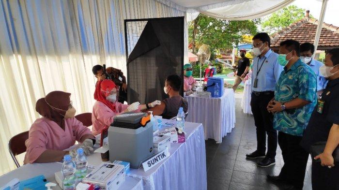 Dinas Pariwisata DIY Bersama Pemkab Bantul Gelar Vaksinasi Wisata ke-34
