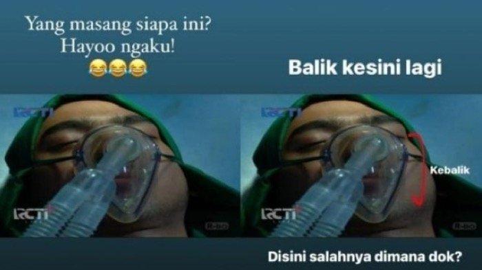 Dipasang Terbalik, Dokter Anton Tanjung Kritik Masker Pernafasan Aldebaran di Sinetron Ikatan Cinta
