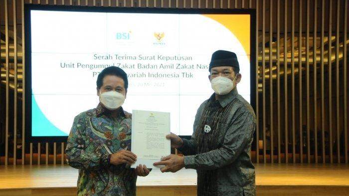 Optimalkan Pengelolaan Zakat Infaq Sedekah, Bank Syariah Indonesia Resmikan UPZ