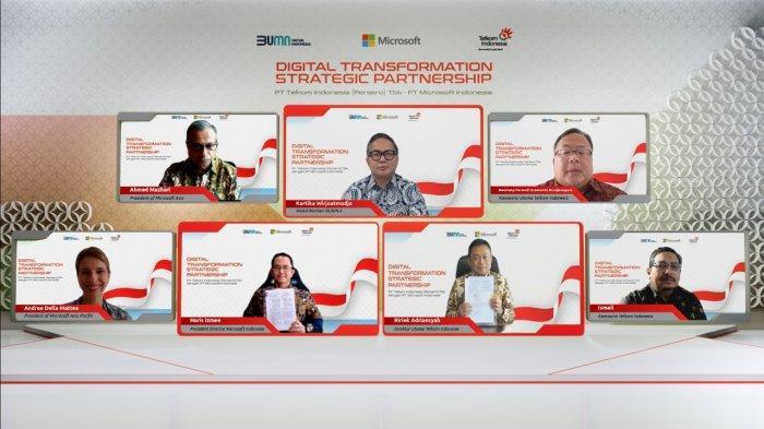 Telkom dan Microsoft Berkolaborasi untuk Akselerasi Transformasi Digital di Indonesia