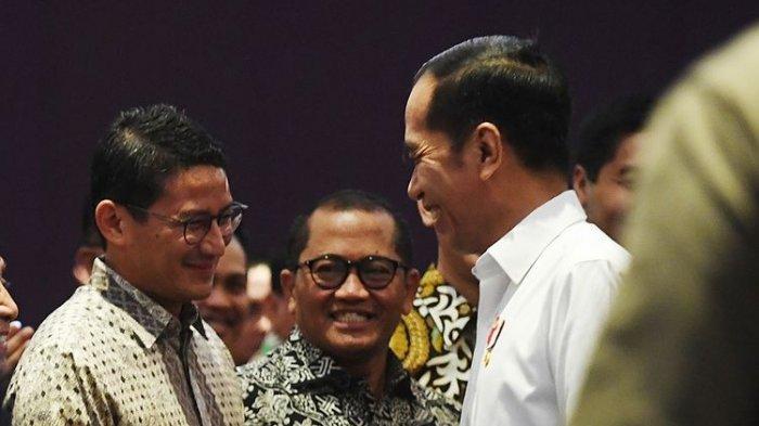 Namanya Disebut Jokowi, Peluang Sandiaga Uno Maju Pilpres 2024 Lebih Besar Ketimbang Anies Baswedan